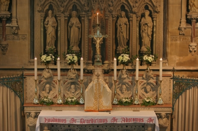 Image of the Altar Gradine